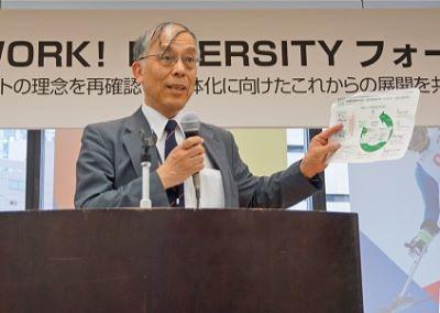 当機構代表理事岩田